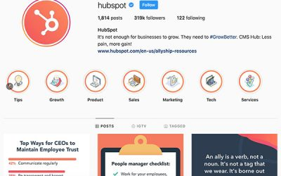 5 Instagram Accounts to Follow for Marketing Inspiration